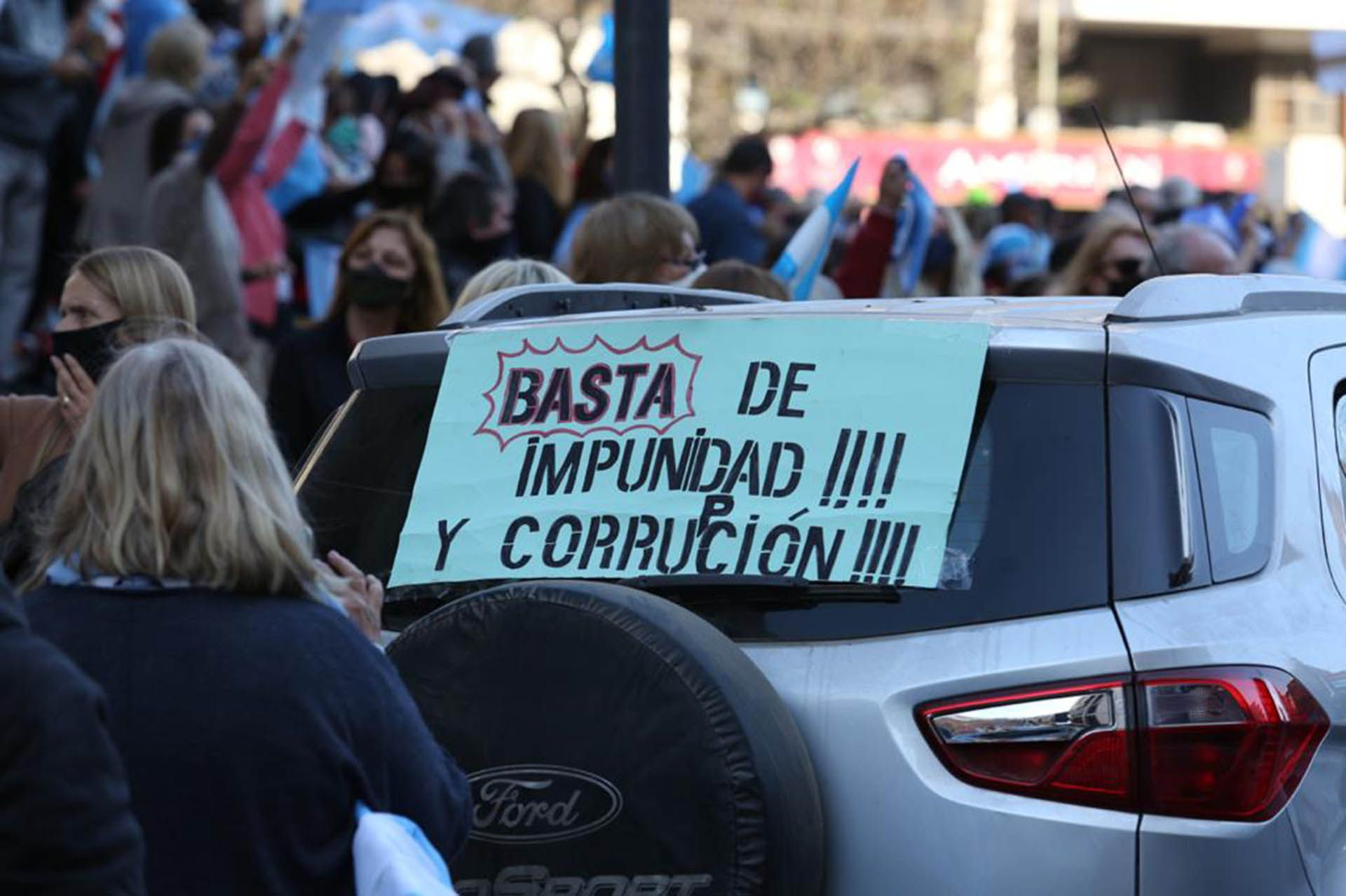 Banderazo - marcha 17A Rosario