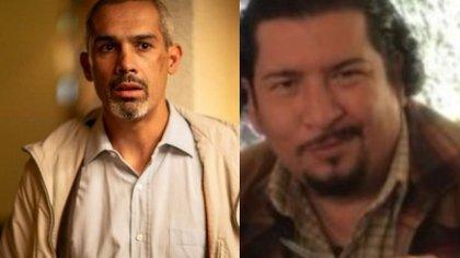 Los actores Jorge Navarro Sánchez y Luis Gerardo Rivera fallecieron el viernes (Foto: especial)