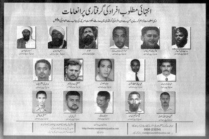 En un organigrama de 2005, Al Adel ya aparecía al centro del mapa de Al Qaeda, con una recompensa de 5 millones de dólares por su captura (Reuters)
