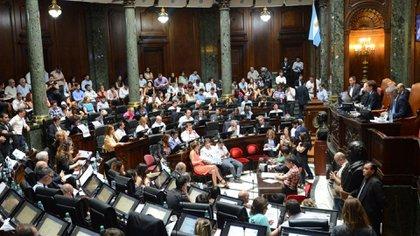 La sesión de hoy en la Legislatura