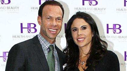 Zague y su exmujer Paola Rojas en tiempos felices (Foto: Archivo)