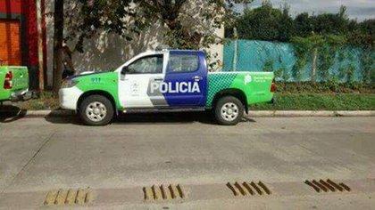 El hecho se registró alrededor de las 6 en una vivienda situada en Río Negro al 200, entre Giobellini y Modarelli