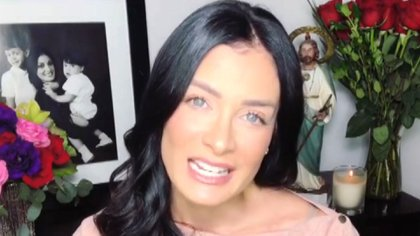 En su más reciente video ya no apareció la foto con D'Esposito