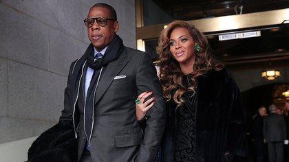 Beyoncé y Jay-Z AP 163