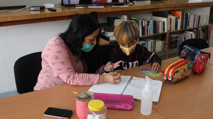 Local educational authorities assured that it is not the only condition to return to the classroom, as there are more factors to take into account (Photo: Cuartoscuro)