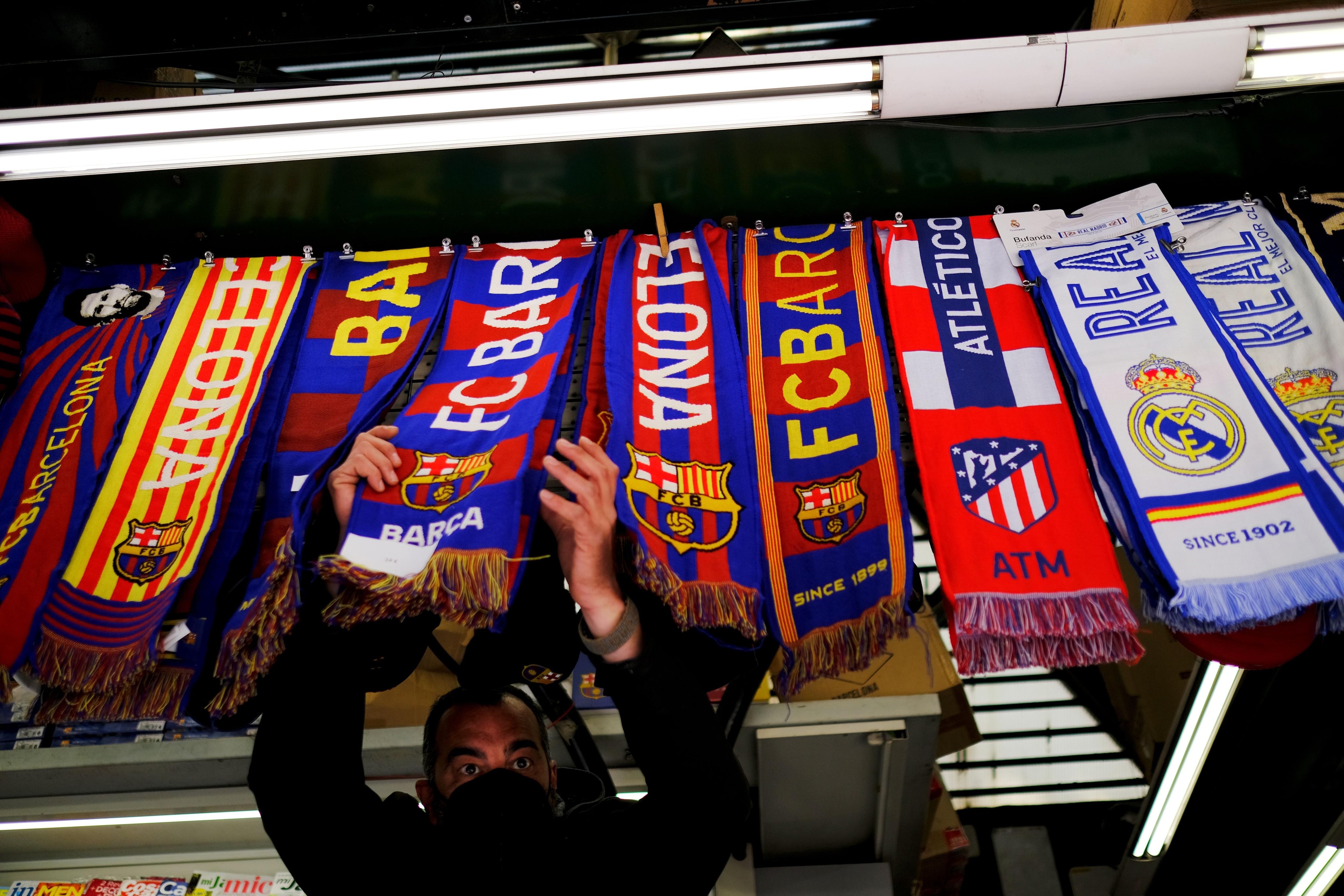 Inter de Milán y Atlético de Madrid anunciaron que dejan la Superliga (Foto: Rueters)