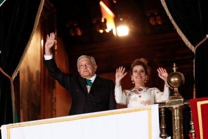 La esposa del presidente de México destacó que la celebración es fundamental para nunca olvidar lo importante que es la soberanía nacional (Foto: Reuters / Henry Romero)