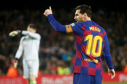"""Lionel Messi habló con """"El País Semanal"""" - .EFE/Quique García/Archivo"""