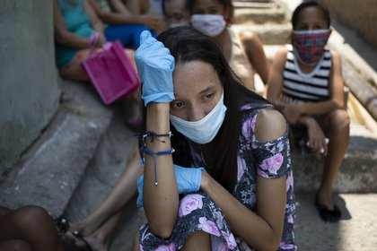 Crecen los casos de coronavirus en Venezuela (AP Foto/Ariana Cubillos)