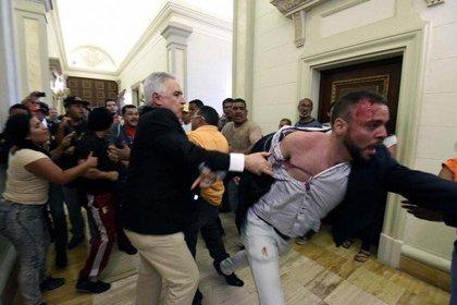 El brutal ataque contra los diputados opositores en 2016