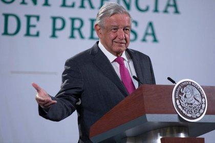 El presidente dijo que buscan dañar a su gobierno quienes dieron a conocer el reporte de la ASF sobre el costo excesivo de la cancelación del NAIM.  Foto: Presidencia de México
