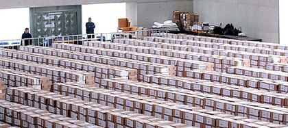 Las urnas de votación de la provincia de Córdoba en los comicios de 2011 (Telam)
