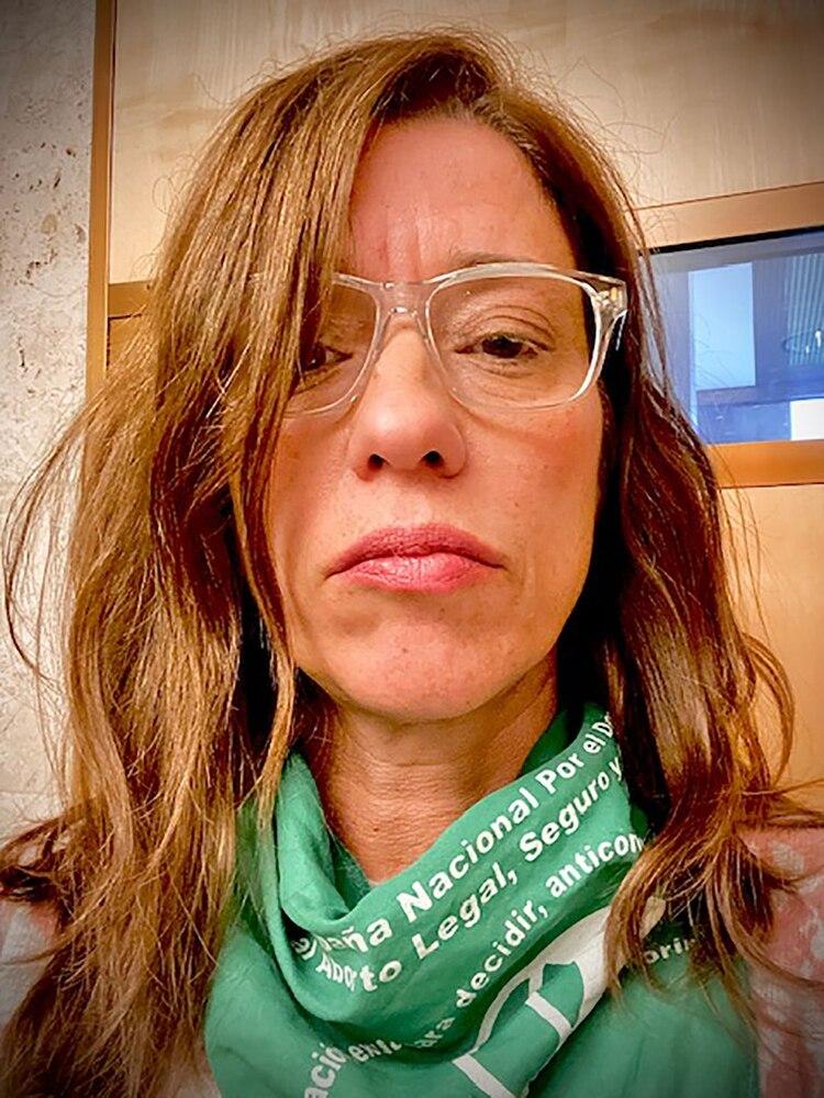 Victoria Pedrido resalta que la Línea de Salud Sexual se dinamizó con las movilizaciones y es una caja de resonancia de los cambios sociales.