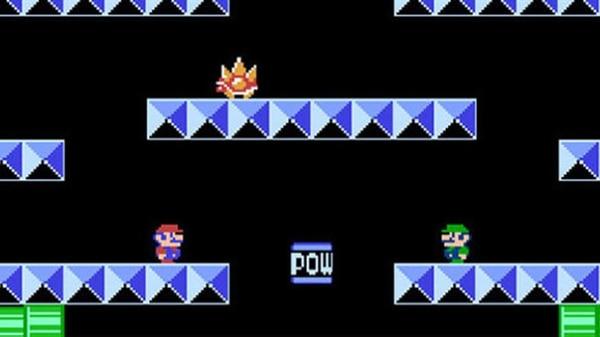 El videojuego se convirtió en un ícono a partir de esta sencilla plataforma