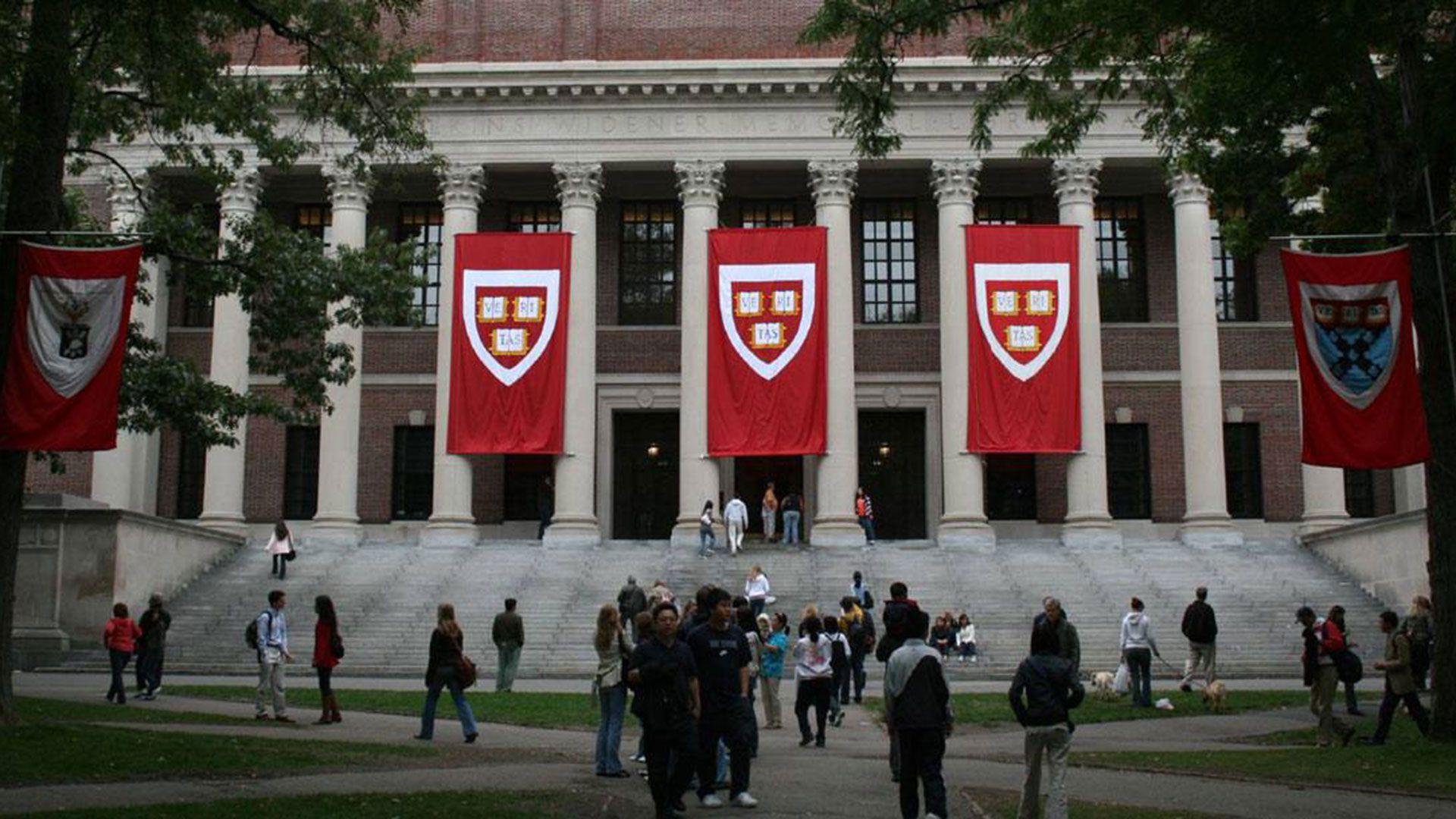 La Universidad Harvard en Cambridge, Massachussetts (AFP)