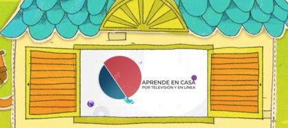 """Aprende en casa TV"" Foto: twitter @SEP_mx"