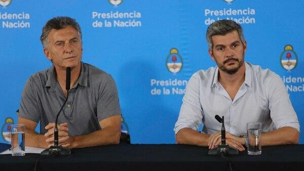 Mauricio Macri habló del caso Díaz Gilligan en Chapadmalal (Christian Heit)