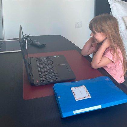 Isabella estudia y se divierte (Instagram)