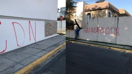 Eran sicarios en un Porsche: quiénes realizaron pintas del CDN en San Pedro Garza García, el municipio más rico de México