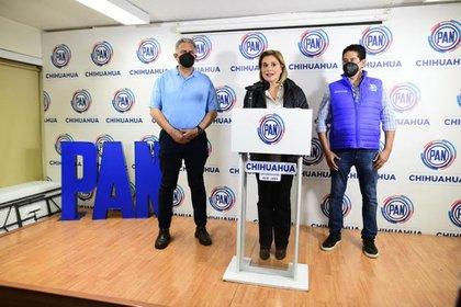 La candidata del PAN a la gubernatura de Chihuahua fue vinculada a proceso por el delito de cohecho. Foto Cortesía