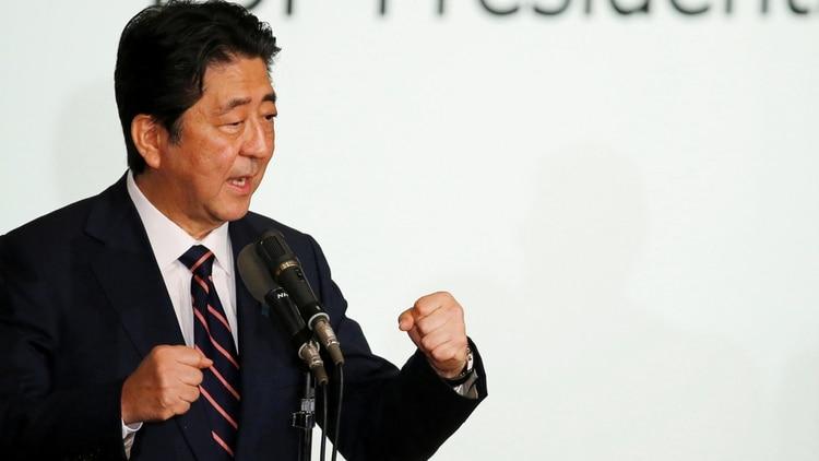 Shinzo Abe, primer Ministro de Japón, durante la reciente cumbre del G20 en Osaka.
