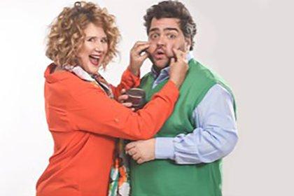 """Verónica Llinás y Darìo Barassi hacen estallar de risa al público en""""Carcajada Salvaje"""" en el teatro Multitabaris (@dariobarassi)"""