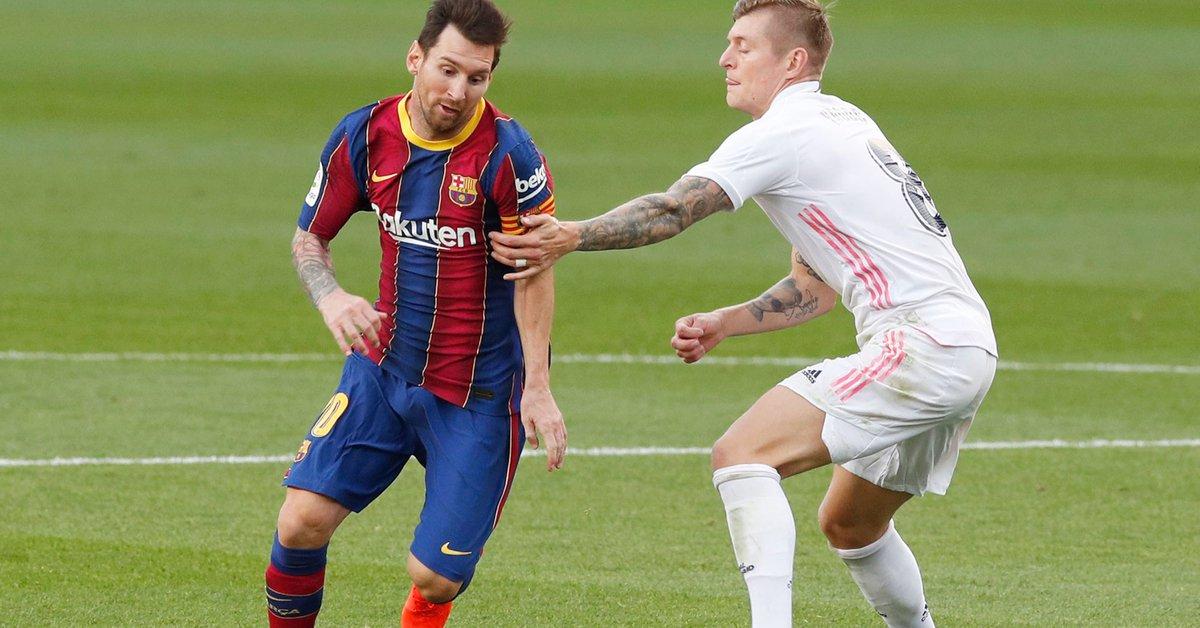 Con las miradas puestas en Messi, Real Madrid y Barcelona animarán un clásico crucial por la definición del título en España: hora, TV y formaciones - Infobae