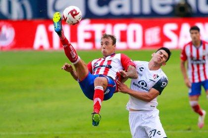 Memo Vázquez reconoció que su equipo ha tenido fallas en la defensiva, así como en la parte ofensiva (Foto: Cortesía/ Atlético de San Luis)