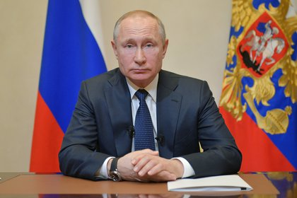El presidente VladimirPutin da un mensaje a Rusia (Sputnik/Alexei Druzhinin/Kremlin via REUTERS)