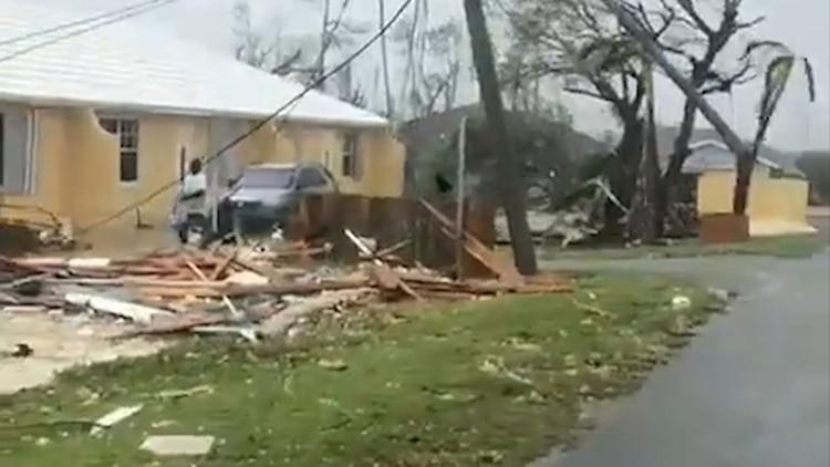 Los destrozos visibles en las islas Ábaco (Foto: Especial)