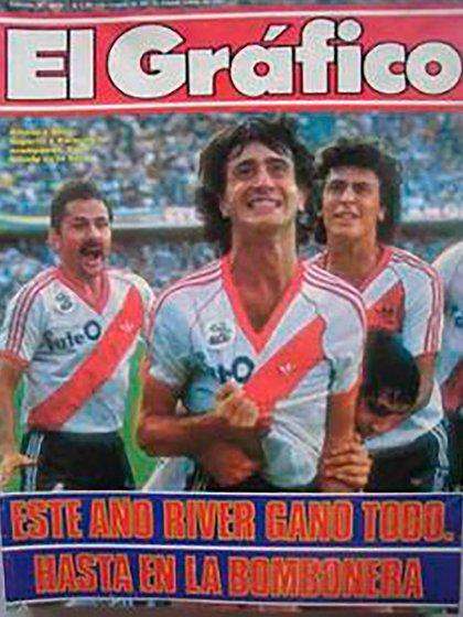 River tuvo un año 1986 soñado: ganó el torneo local, la Copa Libertadores y la Intercontinental