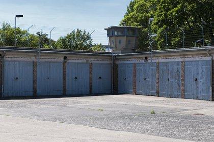 El patio de una cárcel de la Stasi en Berlín (Shutterstock)