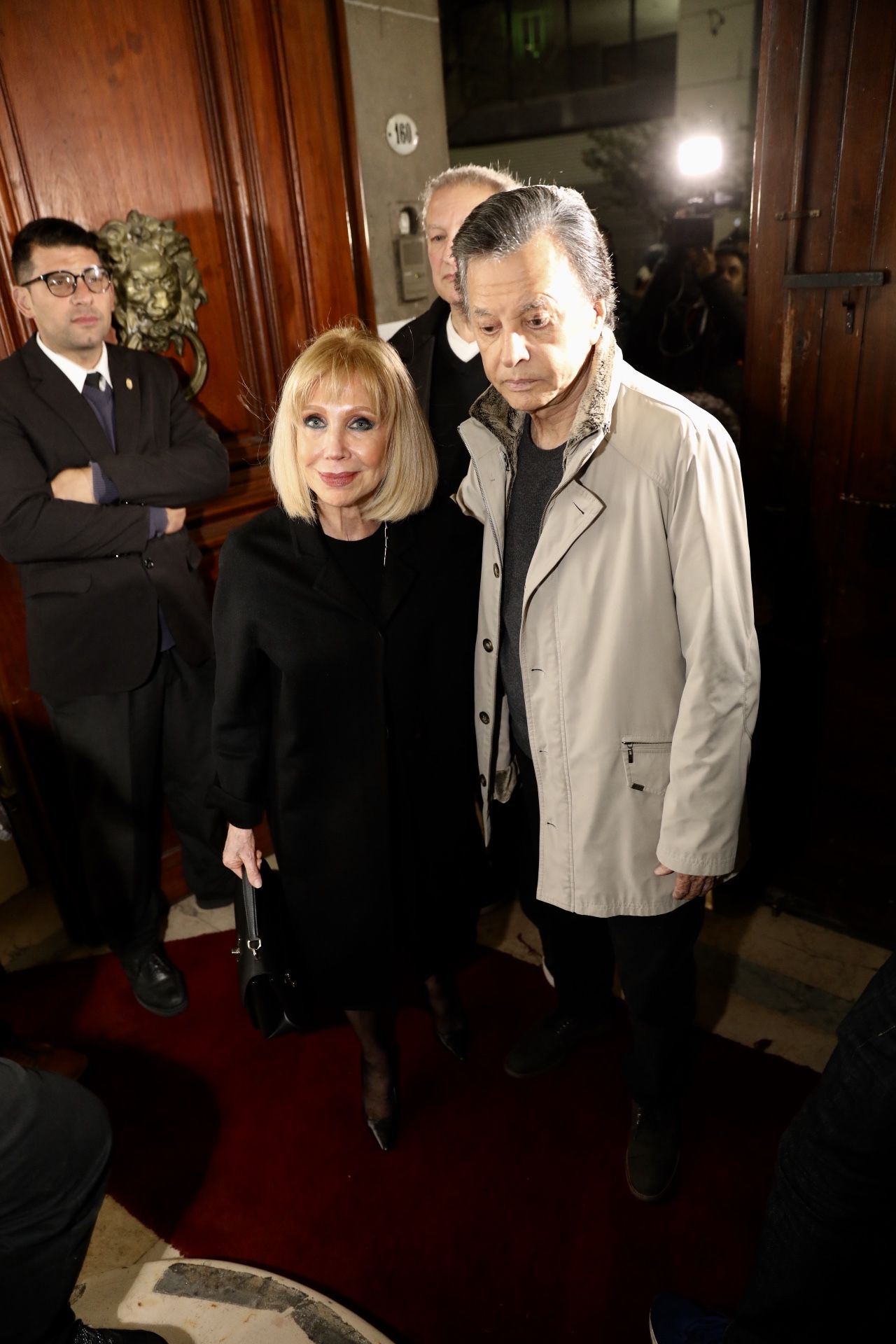 "Evangelina Salazar y Ramón ""Palito"" Ortega"" (Foto: Teleshow/Chule Valerga)"