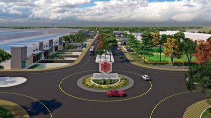 SkyPark, un parque industrial único en su tipo en la península (Foto: SkyCapital)