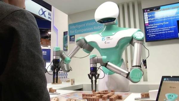 Scrabble robot