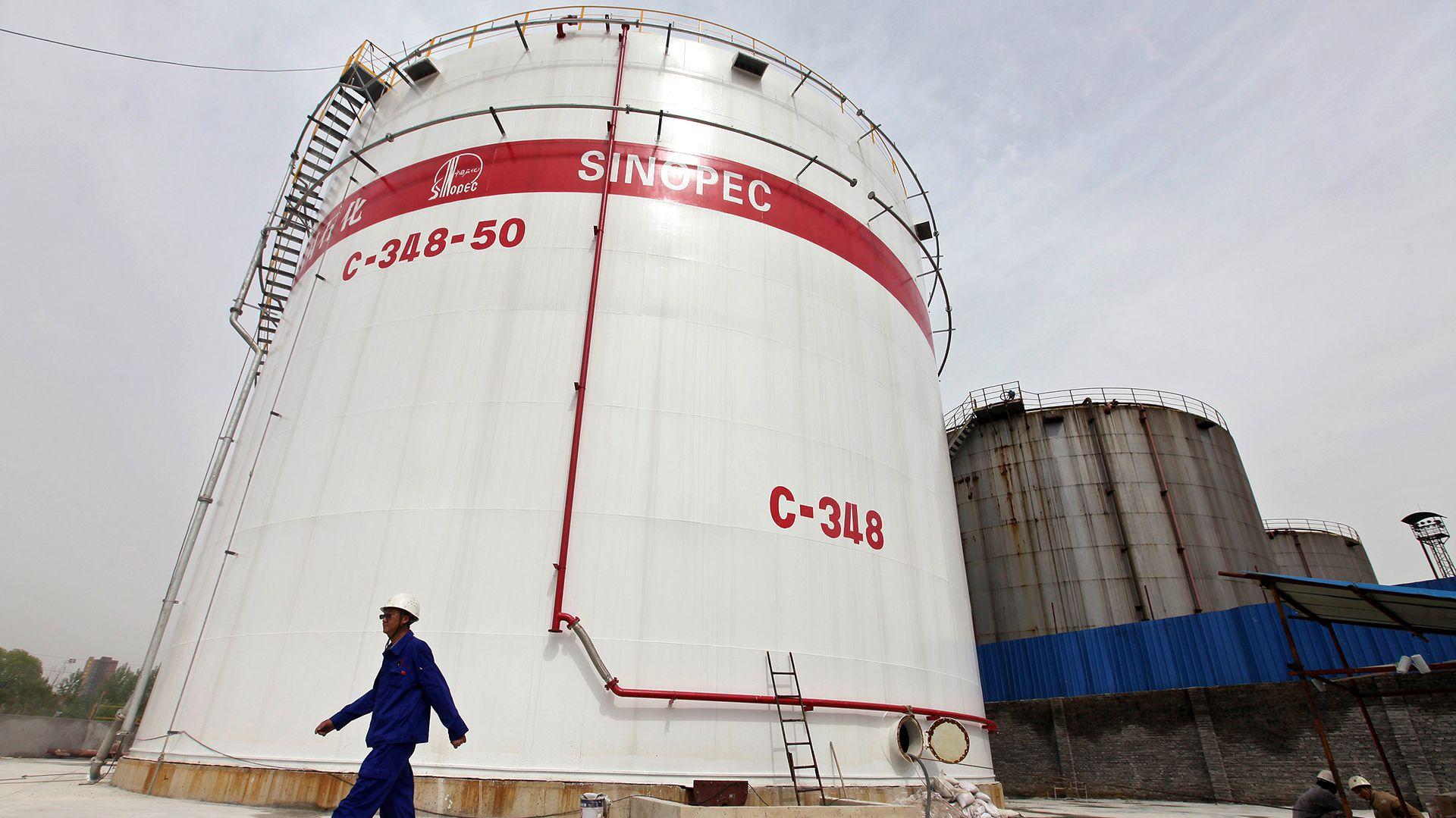 Sinopec, otra de las petroleras interesadas en la compra (Reuters)