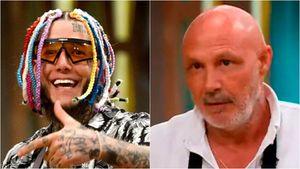"""La fuerte respuesta de Alex Caniggia a Mariano Dalla Libera, quien lo había criticado por su desempeño en Masterchef Celebrity: """"Siempre serás un fracasado"""""""