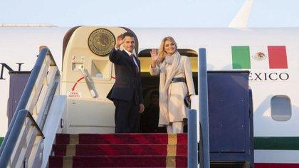 En el sexenio de Peña Nieto se destinaron 250 millones de pesos en viajes (Foto: Especial)