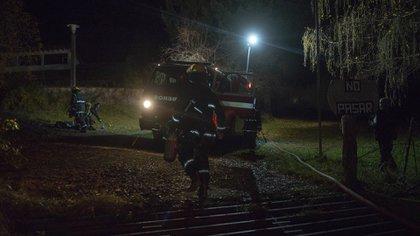 Un grupo de encapuchados anónimos atacaron a piedrazos una cabaña en Villa Mascardi los primeros días del mes de agosto. En el interior de la vivienda se encontraba el cuidador y su familia (Télam)