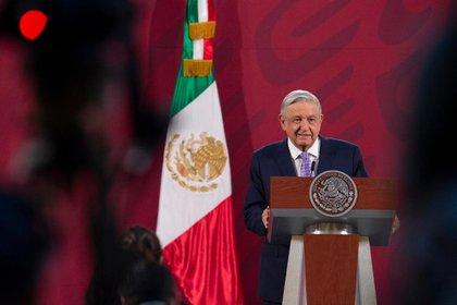 López Obrador confirmó que hay disponibilidad para sepultar a las víctimas del COVID-19, así como camas en hospitales. (Foto: Cortesía Presidencia)