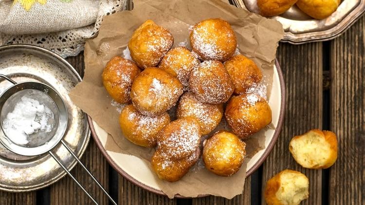 Buñuelos de ricota (Shutterstock)