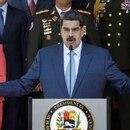 Foto de archivo del presidente de Venezuela, Nicolas Maduro, en una conferencia de prensa en el Palacio de Miraflores, en Caracas. Mar 12, 2020. REUTERS/Manaure Quintero