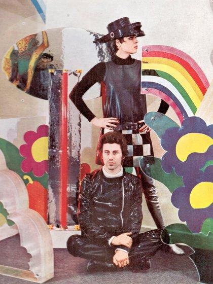Blanca y Nicolás, una pareja rebelde y creativa (Fundación García Uriburu)