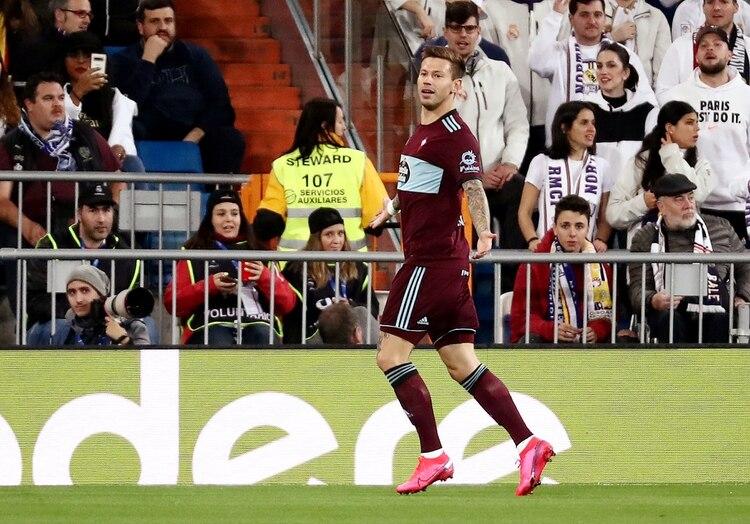 Fedor Smolov llegó al Celta de Vigo en enero y le marcó un gol al Real Madrid en el Santiago Benabéu (REUTERS)