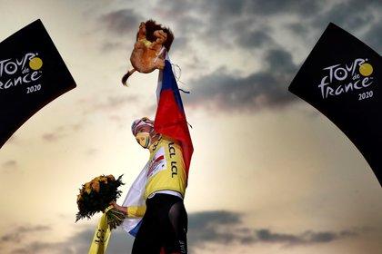 El esloveno Pogacar fue el campeón del Tour de France (EFE)