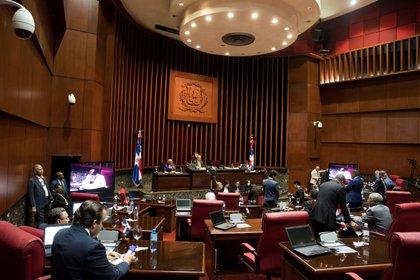 Lo aprobado por el Poder Ejecutivo ahora va al Congreso Nacional (bicameral) para su aprobación o modificación. EFE/Orlando Barría/Archivo