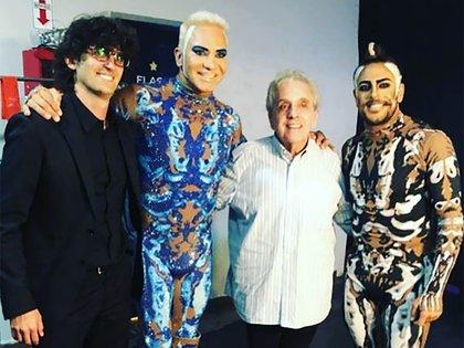 """Antonio Gasalla fue a ver el espectáculo """"Siddharta"""", de Flavio Mendoza (Instagram)"""