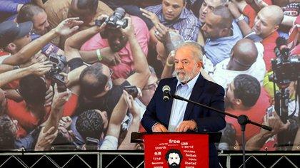 Lula da Silva dijo que quiere ganarle las elecciones a Jair Bolsonaro y ser presidente de Brasil una vez más