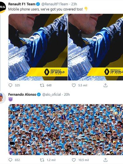 La interacción entre Alonso y Renault
