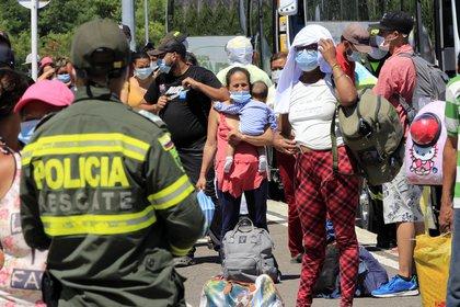 Las medidas de control se toman considerando la alta ocupación de camas UCI, las cuales en Cúcuta están llenas hasta el 98% y en Norte de Santander hasta el 92% / (EFE/Mario Caicedo/Archivo).